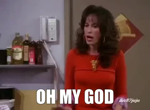 OMG, friends, janice, OH MY GOD GIFs
