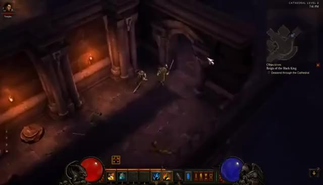 Watch and share Grasp Of The Dead GIFs and Diablo 3 GIFs on Gfycat