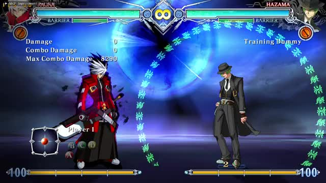 Watch and share BLAZBLUE CENTRALFICTION 19 07 2018 13 38 10 GIFs on Gfycat