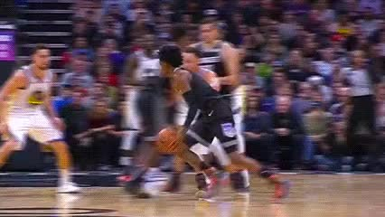 Watch De'Aaron Fox — Sacramento Kings GIF by Off-Hand (@off-hand) on Gfycat. Discover more 121418 GIFs on Gfycat