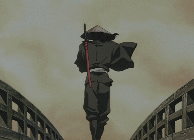 animegifs, Unphased [Ninja Scroll] (reddit) GIFs