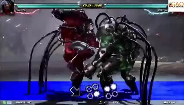 Watch and share Tekken 7 - Gigas Movelist GIFs on Gfycat