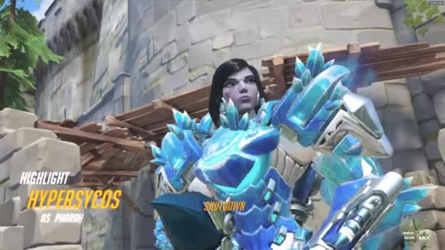 Watch and share Highlight GIFs and Overwatch GIFs by hypersycos on Gfycat