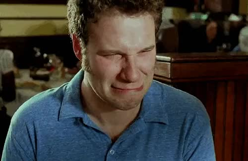 Watch and share Seth Rogen GIFs and Sad Face GIFs on Gfycat