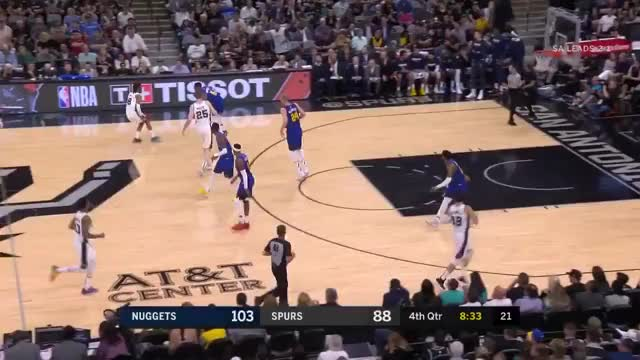 Watch and share San Antonio Spurs GIFs and Denver Nuggets GIFs on Gfycat