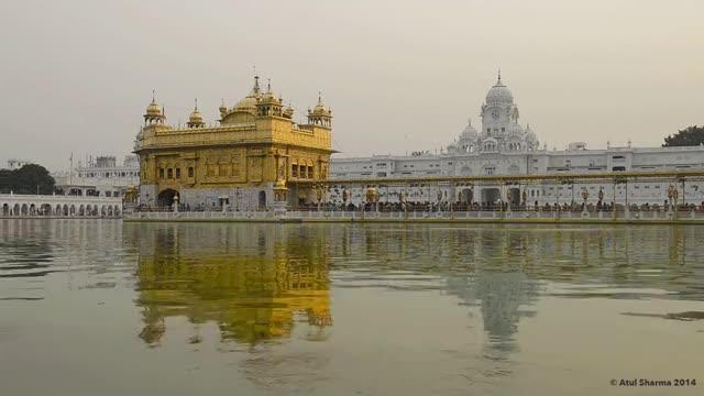 Watch and share Harmandir Sahib Golden Temple,Amritsar GIFs on Gfycat