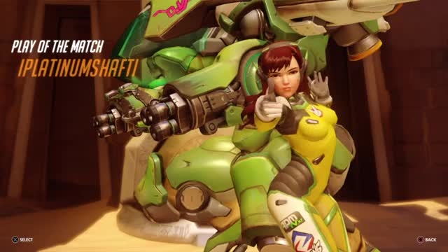 Watch and share Overwatch GIFs and Ps4share GIFs by iplatinumshafti on Gfycat