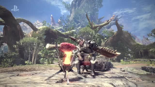 Watch and share Monster Hunter World E3 2017 Gameplay Trailer GIFs on Gfycat