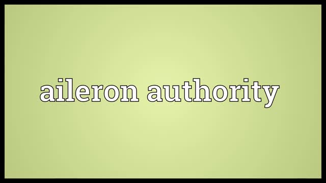 Watch Aileron authority Meaning GIF on Gfycat. Discover more Audio Dictionary, aileron authority, aileron authority definition, aileron authority meaning, aileron authority pronunciation, definition, pronunciation GIFs on Gfycat