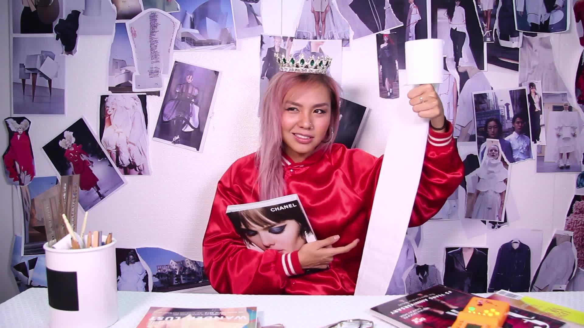 Không chỉ cá tính trên The Face, Quỳnh Như còn quậy hết mức trong clip Vlog đầu tay
