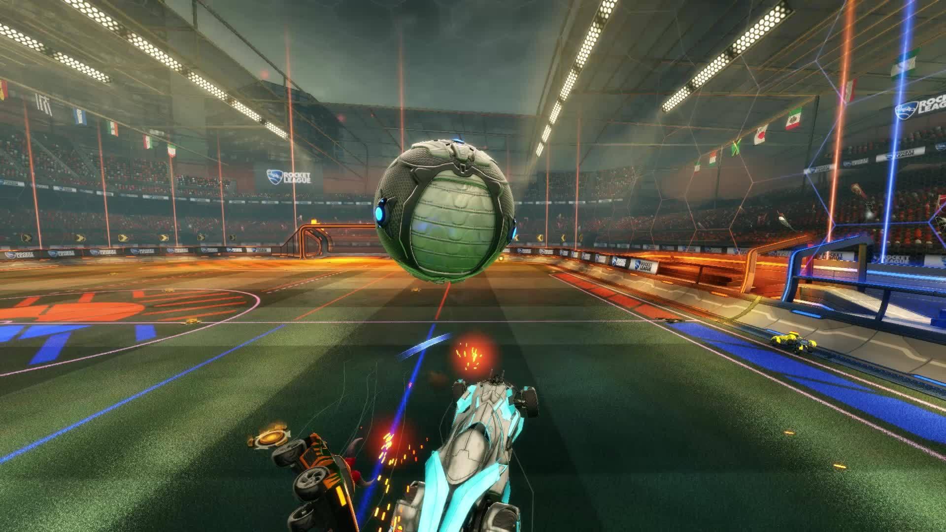Rocket League, rocketleague, Ultimate dunk GIFs