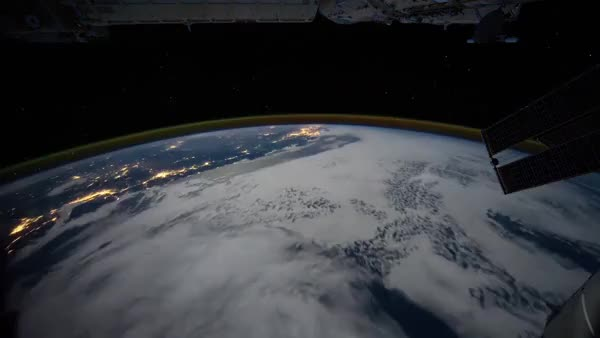 Watch and share Earth From ISS GIFs on Gfycat
