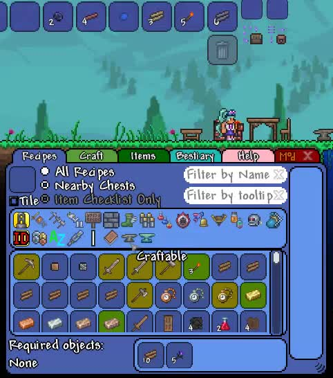 tModLoader - Recipe Browser | Terraria Community Forums