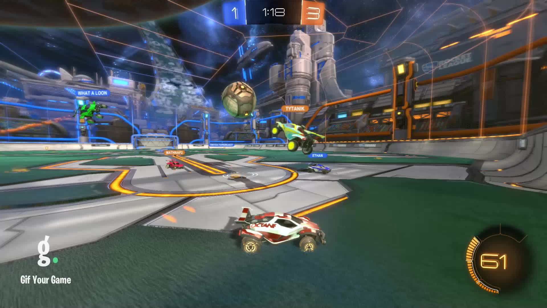 Gif Your Game, GifYourGame, Goal, ItWas...Justified, Rocket League, RocketLeague, Goal 5: ItWas...Justified GIFs