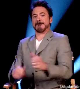 Watch and share Robert Downey Jr GIFs on Gfycat