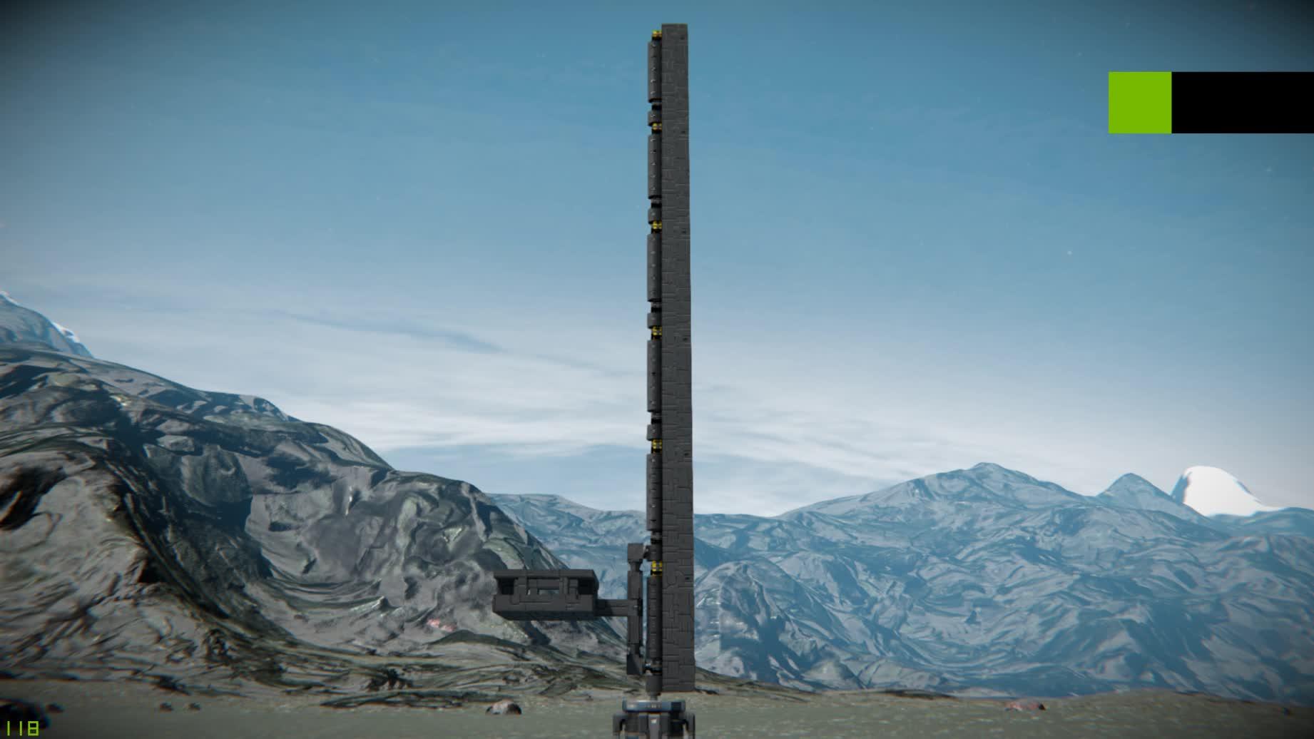 spaceengineers, Space Engineers Elevator Test 2 GIFs