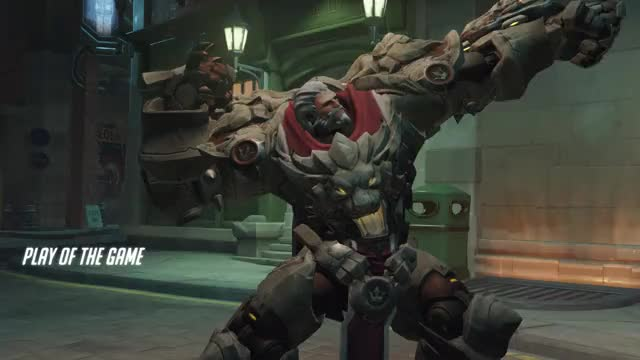 Watch and share Overwatch GIFs and Reinhardt GIFs by reportravemom on Gfycat