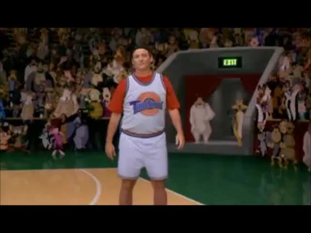 Watch and share Bill Murray GIFs and Space Jam GIFs on Gfycat