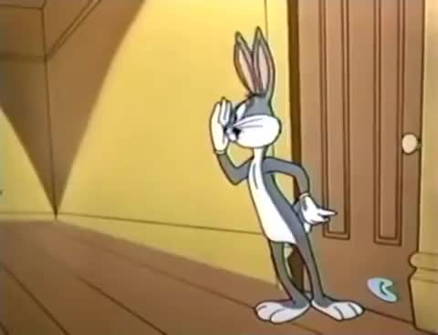 Watch and share Looney Tunes - Bugs Outwits Rocky And Mugsy GIFs on Gfycat