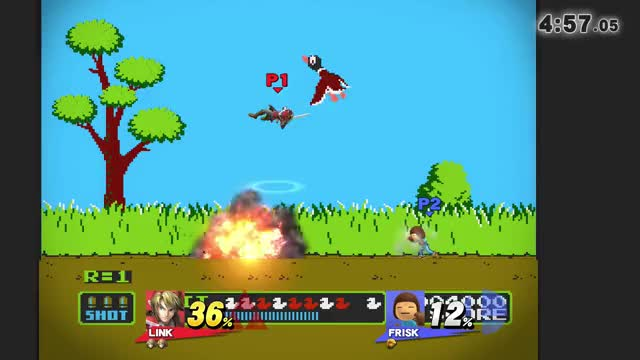 Watch and share Duck Hunt Assisted Combo GIFs by valtykeaton on Gfycat