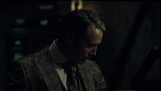 Watch and share Mads Mikkelsen GIFs and Hannibaltv GIFs on Gfycat