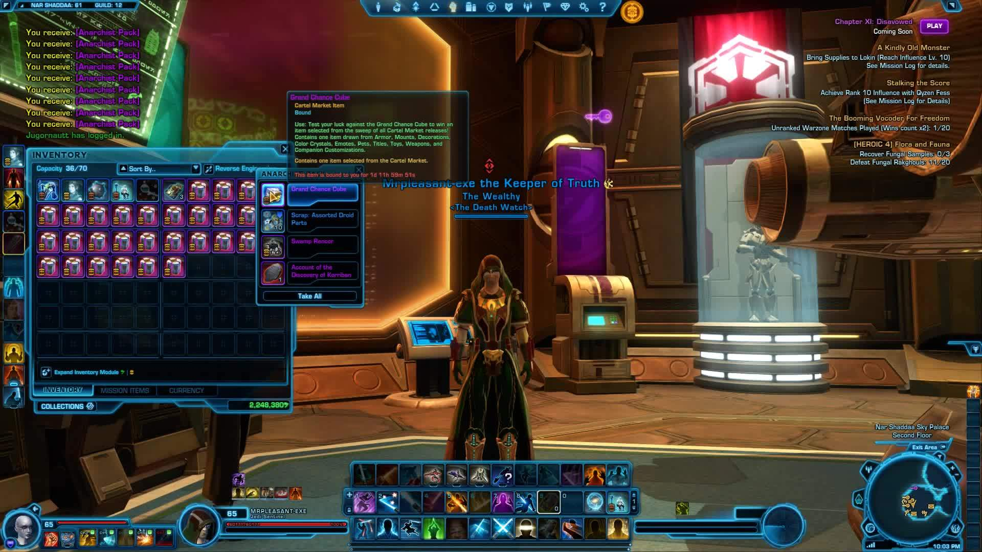 swtor, SWTOR: Hypercrate: Anarchist Packs GIFs