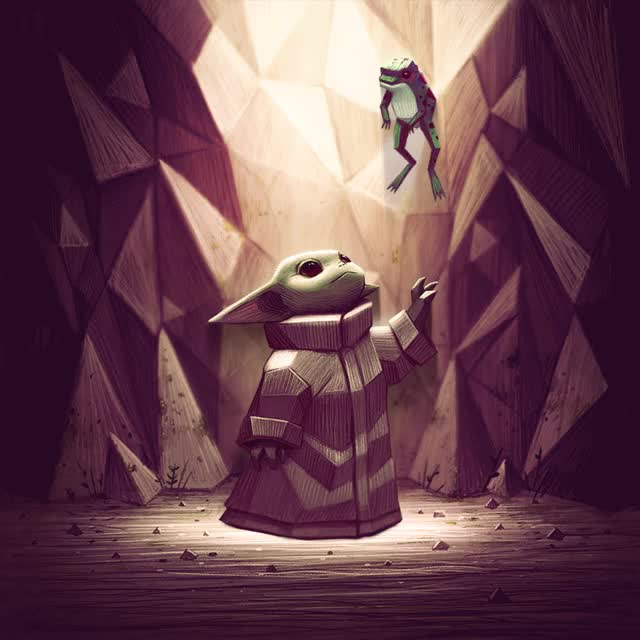 Watch and share Baby Yoda GIFs by Andres Moncayo on Gfycat