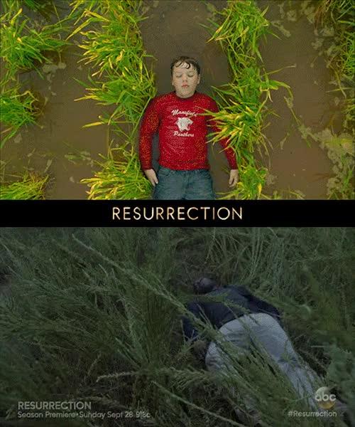 Watch and share 'Resurrection' Season 1 Crashcourse   EW.com GIFs on Gfycat