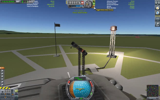 KerbalSpaceProgram, Launch and release GIFs