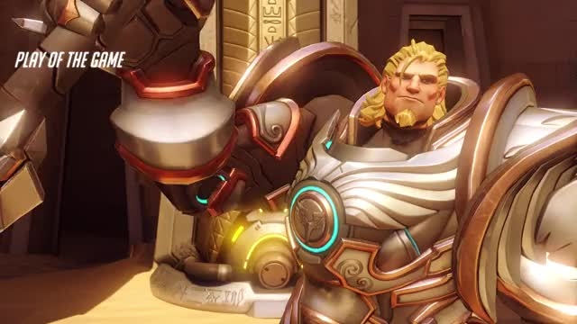 Watch and share Overwatch GIFs and Reinhardt GIFs by grimmoira on Gfycat