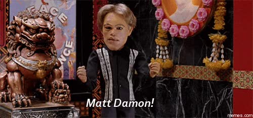 Watch and share MATT DAMON! GIFs on Gfycat