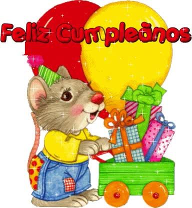 Watch and share Feliz Cumpleaños (14) animated stickers on Gfycat