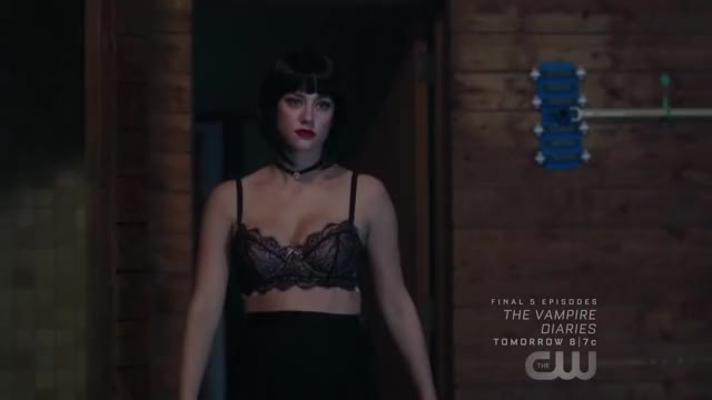 Watch Lili Reinhart's jiggling plots in Riverdale 1x03 (reddit) GIF on Gfycat. Discover more DuelLinks GIFs on Gfycat