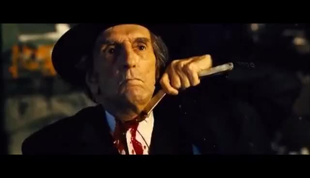 Watch and share Seven Psychopaths - Psychopath No. 2 (The Quaker) GIFs on Gfycat