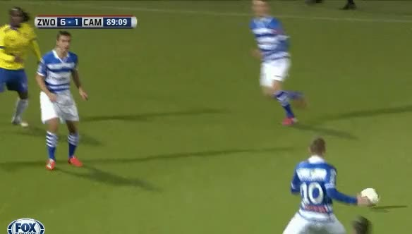 Watch and share Nijland With His Third Against Cambuur Leeuwarden GIFs on Gfycat