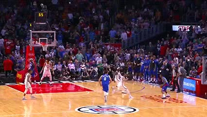 Watch and share Lou Williams — Los Angeles Clippers GIFs by Off-Hand on Gfycat