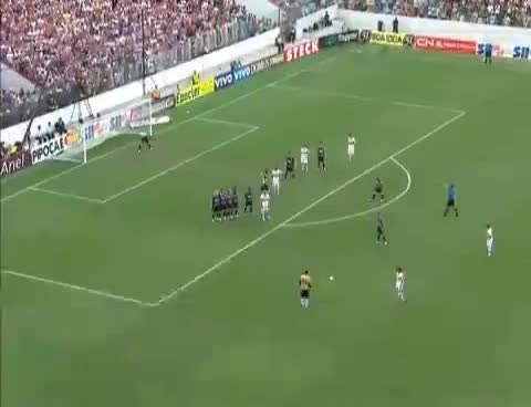 Watch and share 100 Gol De Rogério Ceni São Paulo 2 X 1 Corinthians - Campeonato Paulista 2011 27/03/2011 GIFs on Gfycat