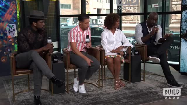 "Watch Mike Colter, Alfre Woodard, Mustafa Shakir & Theo Rossi On Season 2 Of Marvel's ""Luke Cage"" GIF on Gfycat. Discover more aol, aolbuild, aolbuildlive, build, buildseries, buildseriesnyc, content GIFs on Gfycat"