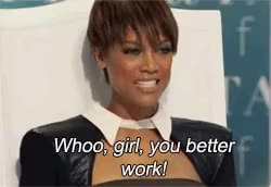Watch and share Tyra Banks GIFs and My Gif GIFs on Gfycat