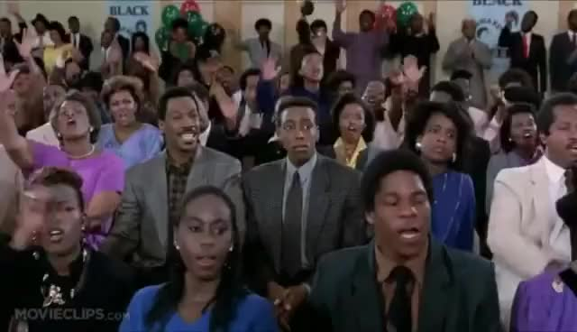 Watch and share Eddie Murphy - I Am Very Happy To Be Here - AMEN GIFs on Gfycat