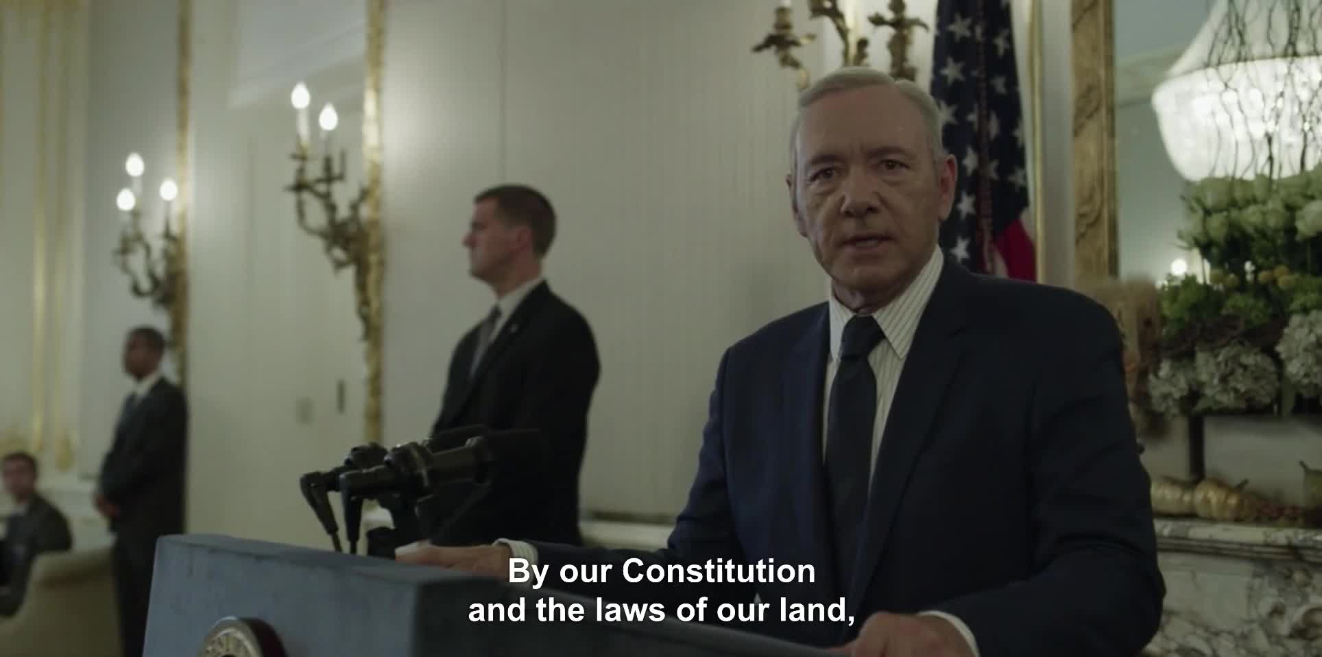 GIF Brewery, frankunderwood, houseofcards, Section Blah-Blah of the Blah-Blah Act GIFs