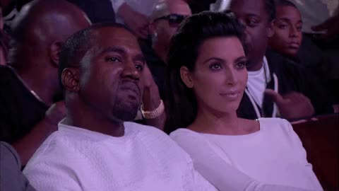 Watch and share Kim Kardashian GIFs and Kanye West GIFs on Gfycat