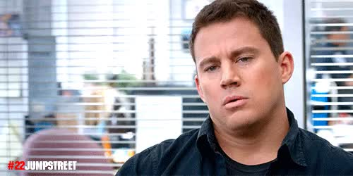 Watch and share Channing Tatum GIFs and Relieved GIFs by Reactions on Gfycat