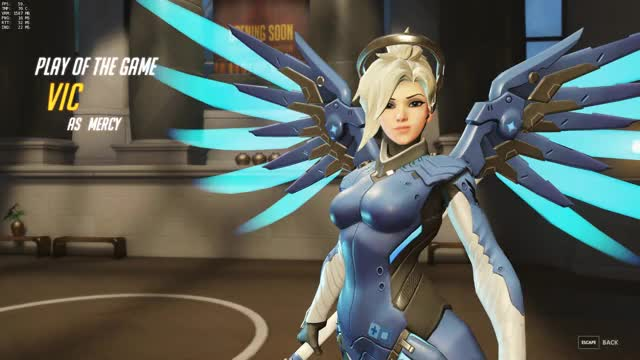 Watch and share Overwatch GIFs and Mercy GIFs by vic on Gfycat