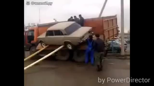 Watch Приколы с машинами GIF on Gfycat. Discover more ANormalDayInRussia, Whatcouldgowrong GIFs on Gfycat
