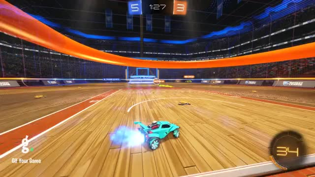 Watch Goal 9: Eschil GIF by Gif Your Game (@gifyourgame) on Gfycat. Discover more Eschil, Gif Your Game, GifYourGame, Goal, Rocket League, RocketLeague GIFs on Gfycat