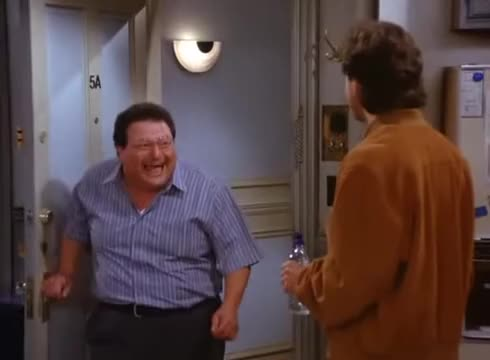 Watch and share Jerry Seinfeld GIFs and Newman GIFs on Gfycat