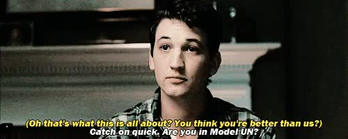 Watch and share Little Jazz Monster GIFs and Miles Teller GIFs on Gfycat