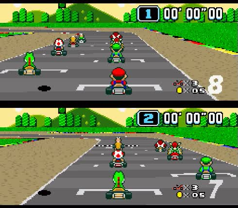 Watch and share Super Mario Kart Race GIFs on Gfycat