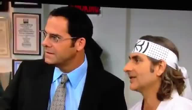 Watch and share The Office GIFs and Karate GIFs on Gfycat